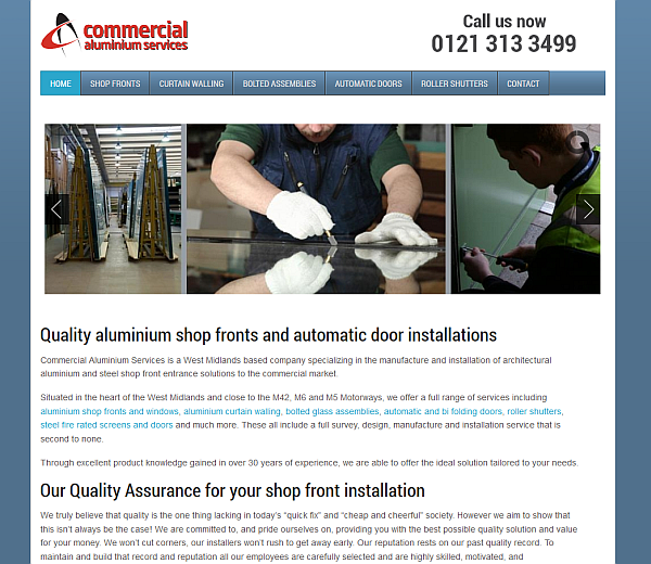 Commercial Aluminium Services