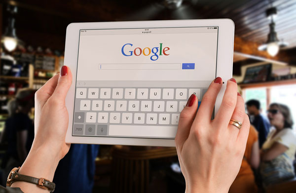 mobile device google index